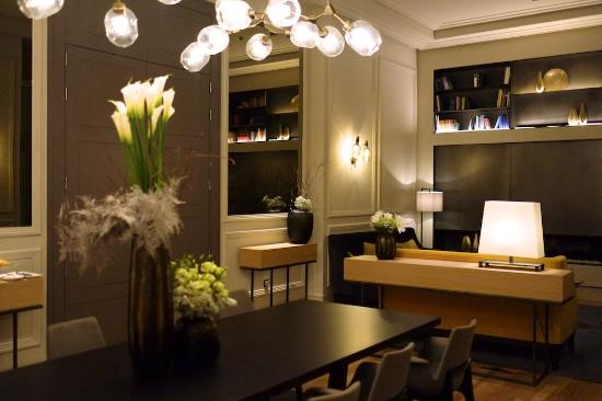 bar hall picture of boho prague hotel prague tripadvisor. Black Bedroom Furniture Sets. Home Design Ideas