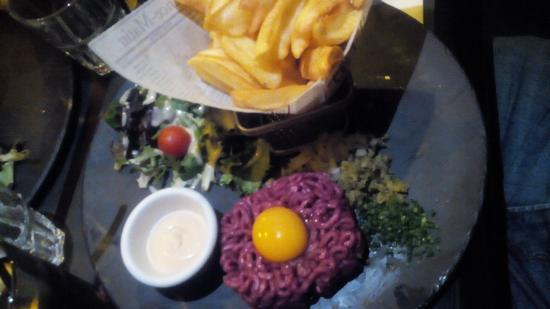 Steak tartare photo de au bureau enghien les bains tripadvisor