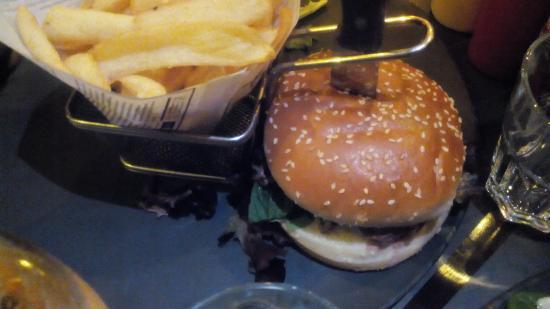Burger spicy picture of au bureau enghien les bains tripadvisor