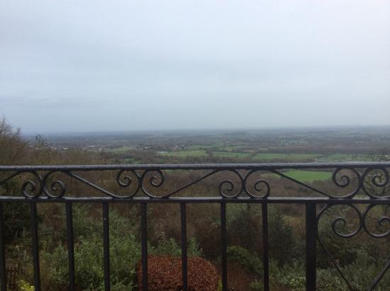 Malvern Wells, UK: Views from the bedroom window.