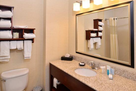 สติวเบนวิลล์, โอไฮโอ: Standard Guestroom Bathroom