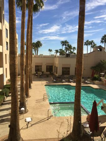 Chandler Southgate Hotel: View from my room