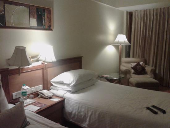 Jaypee Siddharth: Hotel room