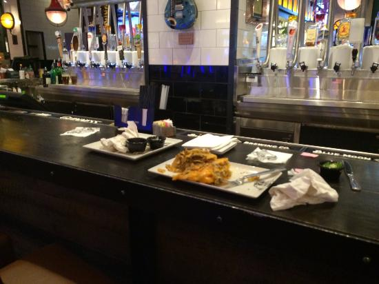 Dirty Dishes Left On The Bar Picture Of Guy Fieri S Baltimore