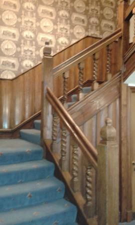 Boroughbridge, UK: Stair to our room
