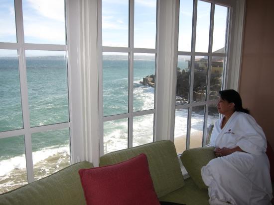 Spindrift Inn: View from room 204