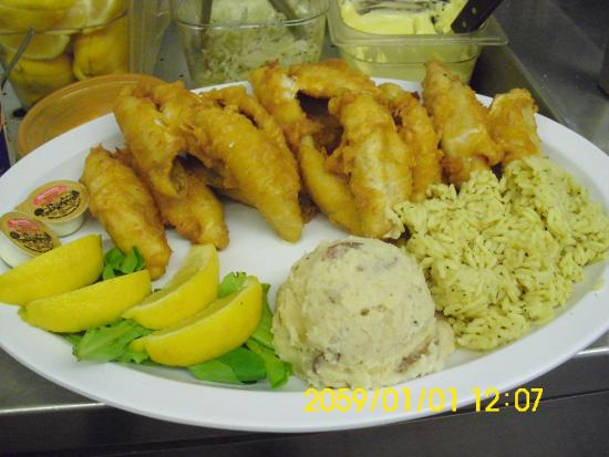 Yellow perch dniner picture of paula 39 s fish place for The fish place