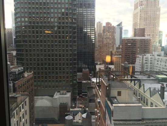 View From Hotel Picture Of Hilton Garden Inn New York Central Park South Midtown West New