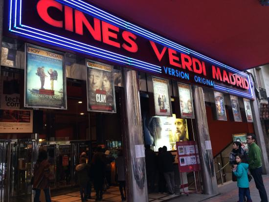‪Cines Verdi Madrid‬