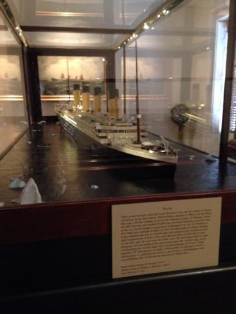 Ships of the Sea Maritime Museum: THE TITANIC!