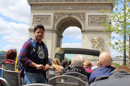 Paris Trip Tours : Arc de Triomphe