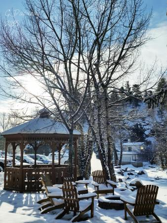 Silver Moon Inn: The grounds are gorgeous. I'd love to return in summer!