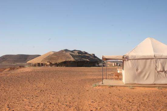 Meroe Tented Camp: view of the restaurant