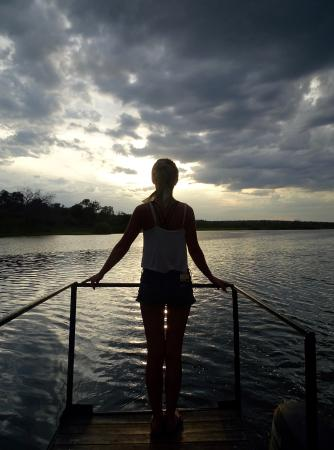 Imbabala Zambezi Safari Lodge: Beautiful evening cruise along the Zambezi River
