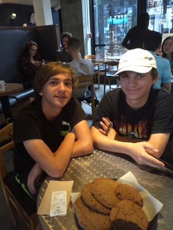 The CoffeeBar: Giant Chocolate Chip Cookies!