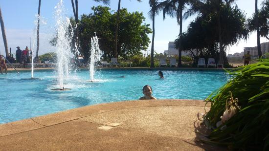 Hotel Venetur Margarita: Una de sus hermosas pisscinas