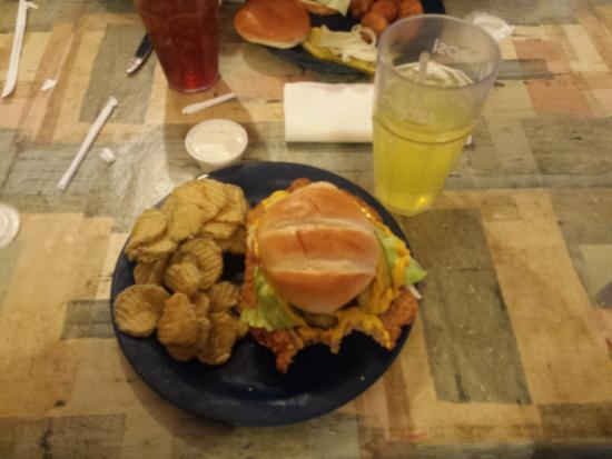 """Cookin' From Scratch: """"The Big Pig"""" with fried pickles"""