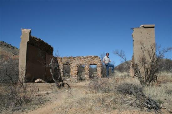 Courtland Ghost Town 20 mins from Hummingbird Ranch Vacation House Rental in Pearce AZ.