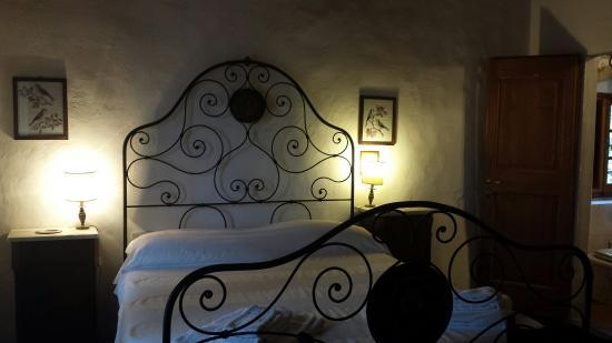 Castello di Bibbione: Stanza da letto