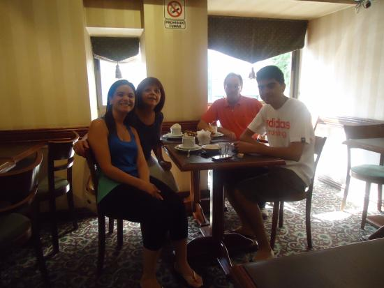 Nuevo Hotel Callao: Comedor buffet