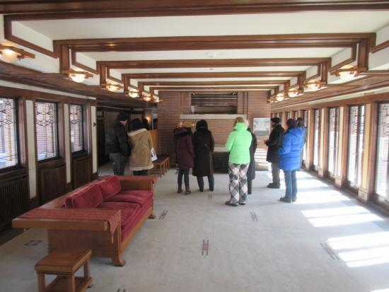 Robie House: Inside