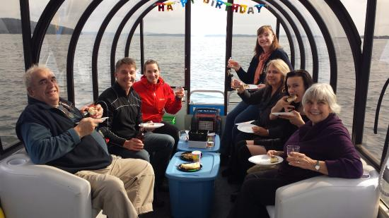 EcoCruising: A lovely packed snack while onboard