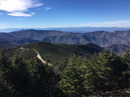 Burnsville, Carolina do Norte: View from Mt. Mitchell