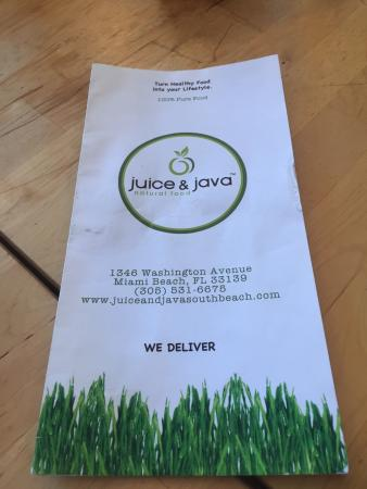 Juice and Java Cafe at Equinox