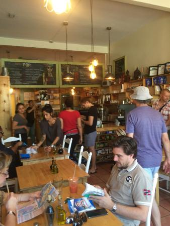 Juice and Java Cafe at Equinox