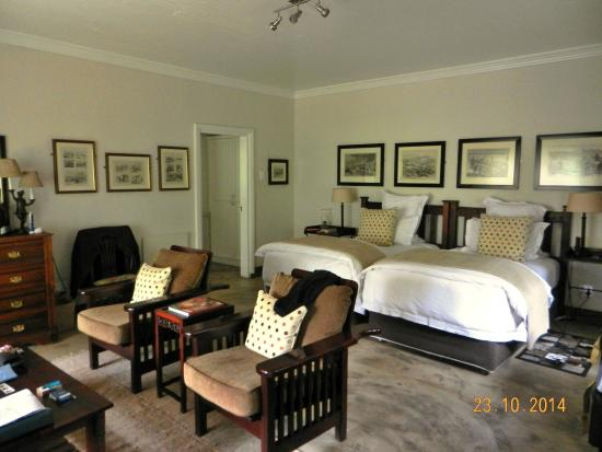 Rorke's Drift, Sydafrika: Lodge cottage interior