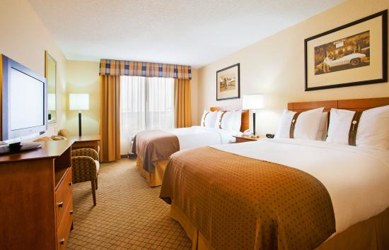 Holiday Inn Battle Creek: Double Bed Guest Room