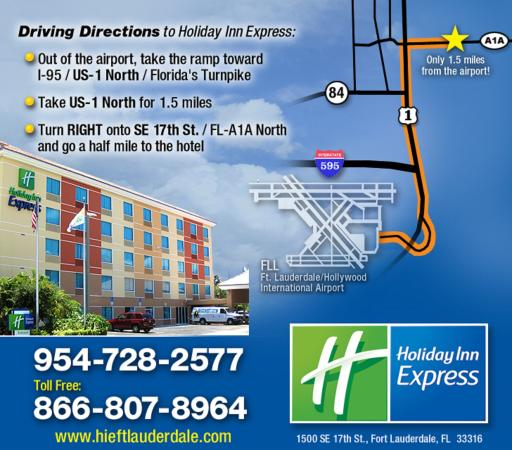 Photo of Holiday Inn Express Ft. Lauderdale Convention Center-Cruise Fort Lauderdale