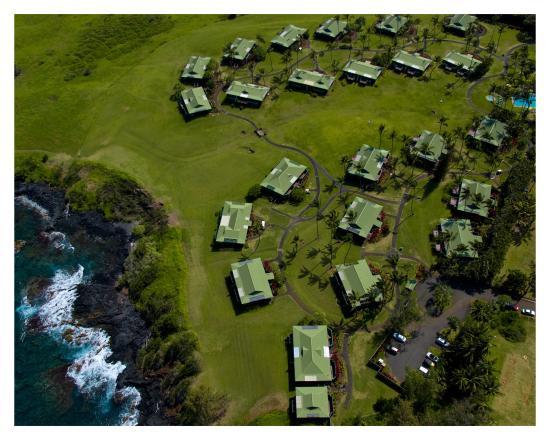Travaasa Hana, Maui: Aerial View