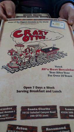 Crazy Otto's Diner SC