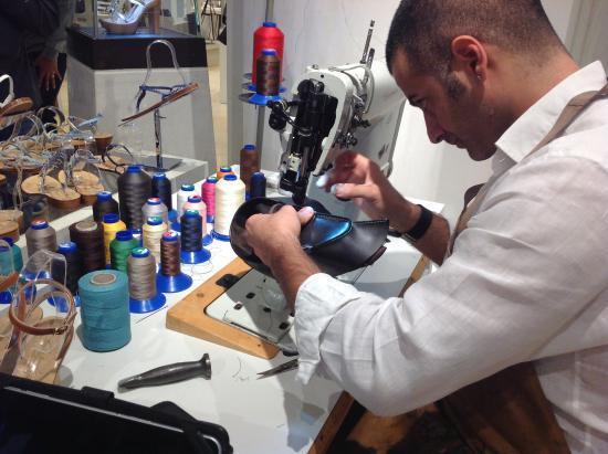Sapori di Capri: Craftsman at work