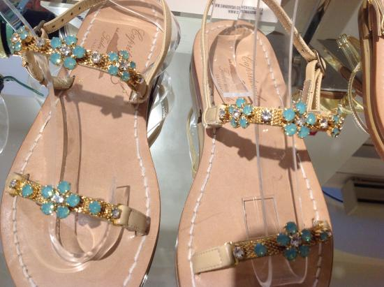 Sapori di Capri: Sample of these beautiful sandals