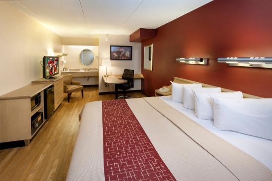 Red Roof Inn Washington, DC - Laurel: Superior King