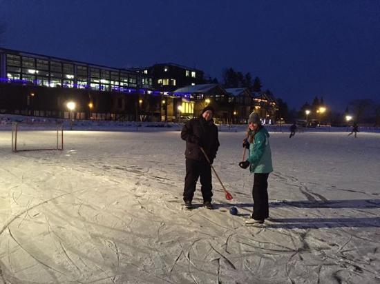 Brainerd, MN: Ice rink