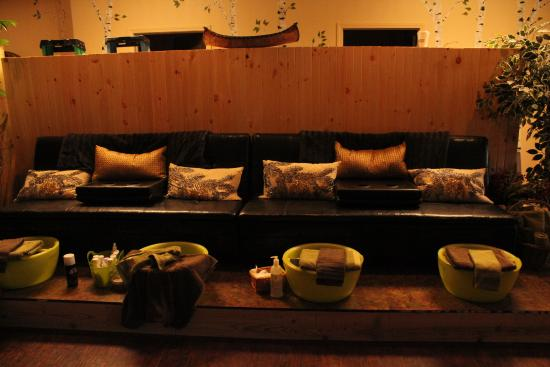 Spa Studio and Boutique: Pedicure Garden
