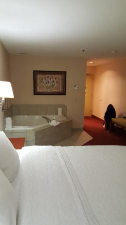 Hampton Inn Hadley-Amherst: Interior of Room With Big Jacuzzi