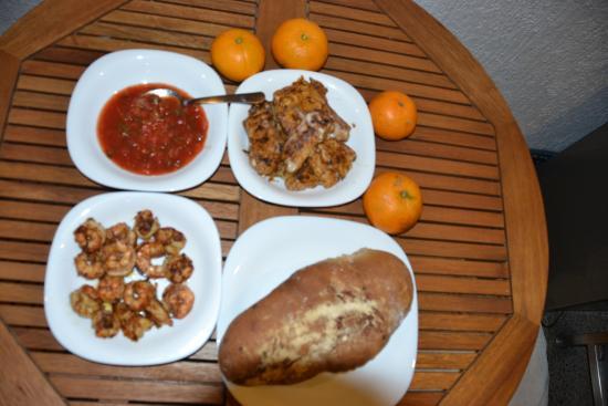Hotel Rio Malecon Puerto Vallarta: Fried at the hotel