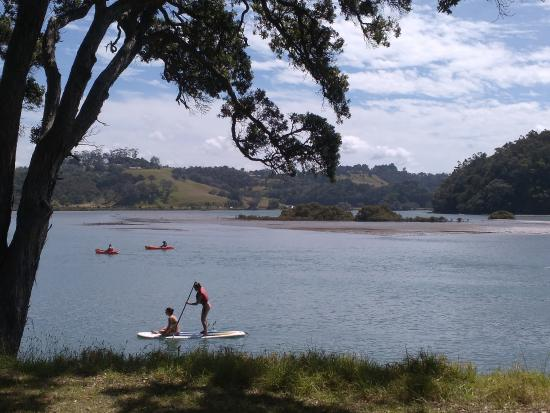 Wenderholm Regional Park: Picturesque riverside