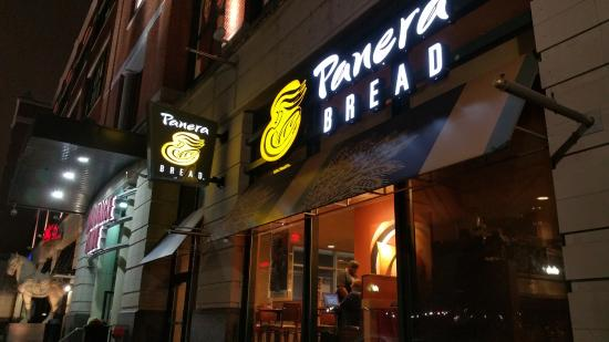 Front For Panera Bread Providence Place