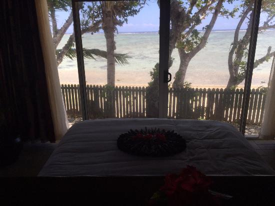 Shangri-La's Fijian Resort & Spa: View from the Spa