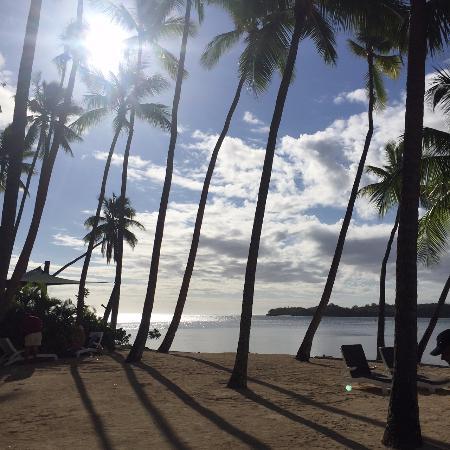 Shangri-La's Fijian Resort & Spa: Beach area