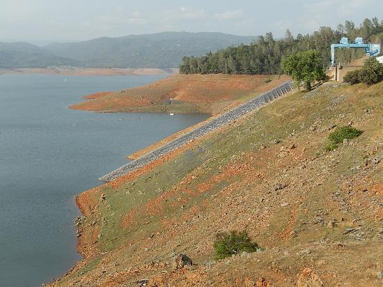 Lake Oroville State Recreation Area: The droughts effect