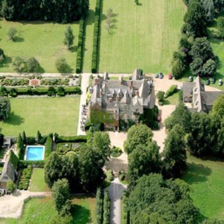 The Manor: Ariel View