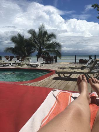 funky fish resort seen from the water picture of funky fish beach rh tripadvisor ie