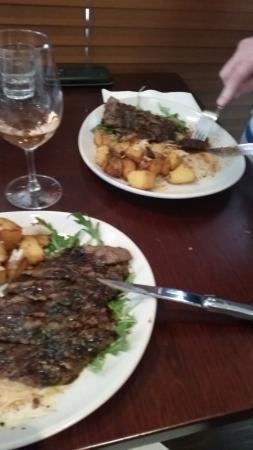 Andre's Cucina and Polenta Bar: La Carne Iron Steak 1/2