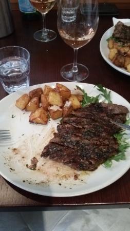 Andre's Cucina and Polenta Bar: La Carne Iron Steak 2/2